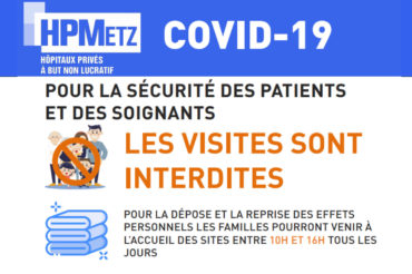 [INFORMATION COVID-19] INTERDICTION DES VISITES