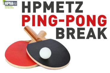 Du ping-pong pour faire une pause !