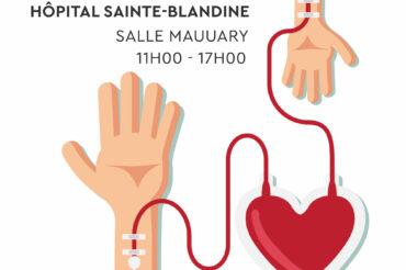 [ Don du Sang ] Collecte de Sang à Sainte-Blandine