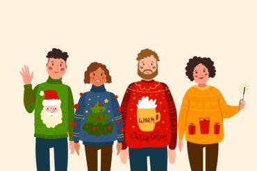 [RAPPEL] Pour le repas de Noël, portez votre plus beau pull de Noël !