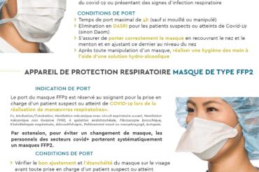 [ COVID-19 ] Rappel concernant le port de masque