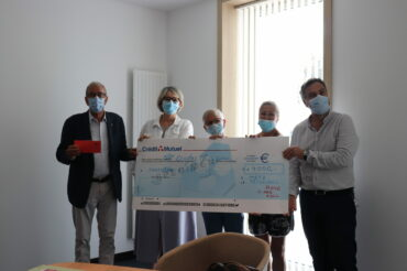 Rose And Roll fait un don de 4000€ pour la fondation HPmetz