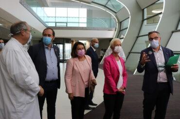 Visite Ministérielle à l'Hôpital Robert Schuman