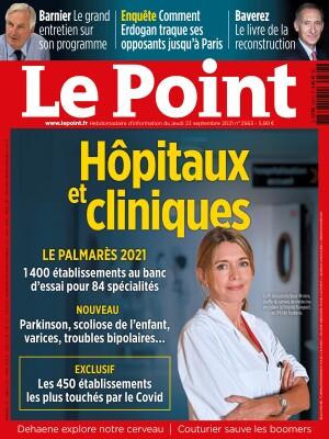Le point – Palmarès des hôpitaux 2021